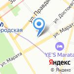 Чито Гвито на карте Санкт-Петербурга