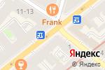 Схема проезда до компании Марко в Санкт-Петербурге