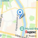 ВИТаКлуб на карте Санкт-Петербурга