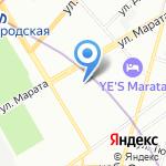 Доктор САН на карте Санкт-Петербурга