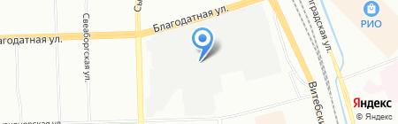 Кнехт на карте Санкт-Петербурга