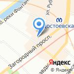 Гастроном 811 на карте Санкт-Петербурга