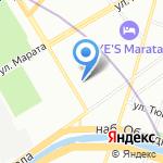 Чистый Мир на карте Санкт-Петербурга