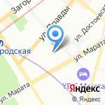 HOCHTIEF Development Russland на карте Санкт-Петербурга