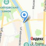 Абим на карте Санкт-Петербурга