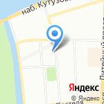 Впечатление на карте Санкт-Петербурга