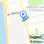 Научно-производственное объединение специальных материалов на карте Санкт-Петербурга