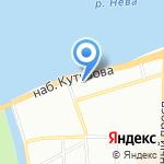 Северо-Западное таможенное управление Федеральной таможенной службы РФ на карте Санкт-Петербурга