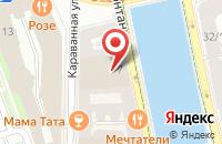 Схема проезда до компании Асвикон в Санкт-Петербурге
