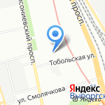 Фрунзенский районный суд на карте Санкт-Петербурга