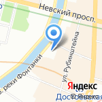 Трест №37 Ленинградспецстрой на карте Санкт-Петербурга
