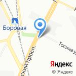 ЛЦЛТ на карте Санкт-Петербурга