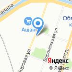Дружина на карте Санкт-Петербурга
