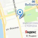 NailsPro на карте Санкт-Петербурга