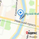 Книжная лавка писателей на карте Санкт-Петербурга