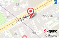 Схема проезда до компании Маритайм в Санкт-Петербурге