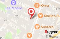 Схема проезда до компании Турбокомпрессор в Санкт-Петербурге