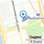 Фабрика-кухня на карте Санкт-Петербурга