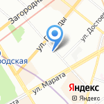 Rieker на карте Санкт-Петербурга