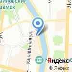 Mesto Hotel на карте Санкт-Петербурга