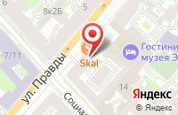 Схема проезда до компании Санкт-Петербургское Информационное Агентство в Санкт-Петербурге