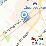 Tabakpodarki на карте Санкт-Петербурга