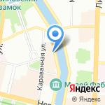 Oskar на карте Санкт-Петербурга