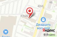 Схема проезда до компании Интэком в Санкт-Петербурге