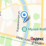 Guinot на карте Санкт-Петербурга