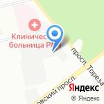 КСО на карте Санкт-Петербурга