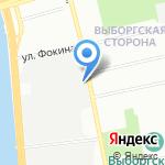 Федерация конного спорта г. Санкт-Петербурга на карте Санкт-Петербурга