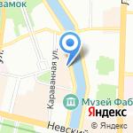 Русская христианская гуманитарная академия на карте Санкт-Петербурга