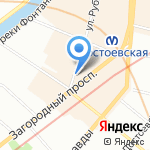 Sweet Dreams на карте Санкт-Петербурга