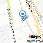 Промышленный Инструмент на карте Санкт-Петербурга