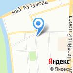 Элтис Холдинг на карте Санкт-Петербурга