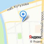 Конфиденция на карте Санкт-Петербурга