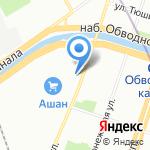 Темелташ на карте Санкт-Петербурга