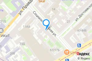 Двухкомнатная квартира в Санкт-Петербурге Социалистическая ул., 13