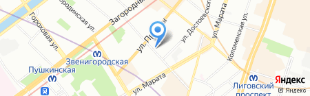 Allianz на карте Санкт-Петербурга