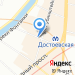 Будда и Чай на карте Санкт-Петербурга