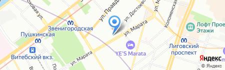 Городская недвижимость на карте Санкт-Петербурга
