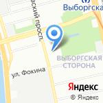 ФОРПОСТ на карте Санкт-Петербурга