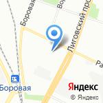 КБ-3 на карте Санкт-Петербурга