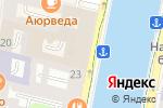 Схема проезда до компании Связь Времён в Санкт-Петербурге