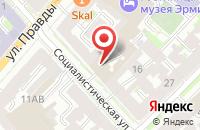 Схема проезда до компании Акционерный Кредитно-Коммерческий Центр Санкт-Петербургской Стройкорпорации в Санкт-Петербурге