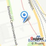АЛТО на карте Санкт-Петербурга