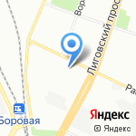 ТриНити СПб на карте Санкт-Петербурга