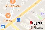 Схема проезда до компании Банк Союз в Санкт-Петербурге