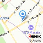 Statoil на карте Санкт-Петербурга