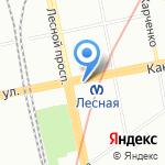 Колбаскин и Огурчиков на карте Санкт-Петербурга